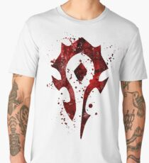 Horde Splatter Men's Premium T-Shirt