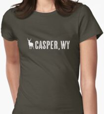Deer: Casper, Wyoming Women's Fitted T-Shirt