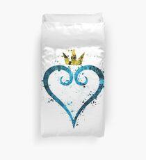 Kingdom Hearts Splatter Duvet Cover