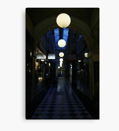 Arcade Nightlife Canvas Print