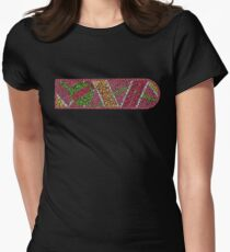 """Hover Board in """"Back To The Future"""" Women's Fitted T-Shirt"""
