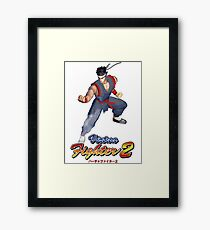 Virtua Fighter - Akira Framed Print