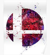 Super Smash Splatter Poster