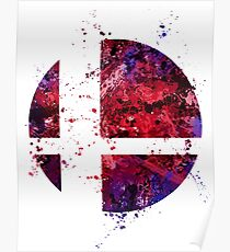 Super Smash Splatter Poster