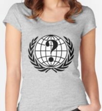 Anonymous - We are Anonymous - Expect us - Shirt Women's Fitted Scoop T-Shirt