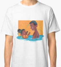 Learning to Swim, Parent and Child Classic T-Shirt