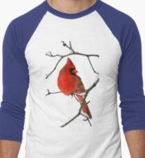Red Cardinal Digital Oil Painting T-Shirt