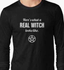 Funny Witch Quote & Pentagram T-Shirt