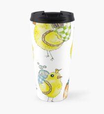 Easter Chicks & Eggshell Baskets Travel Mug