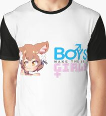 Boys Make The Best Girls Graphic T-Shirt