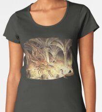 Bilbo and Smaug the Dragon Women's Premium T-Shirt