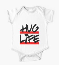 I didn't choose the hug life, it chose a cooler font One Piece - Short Sleeve