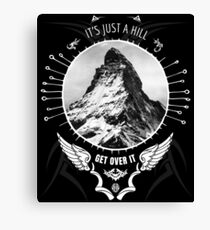 BMX MOUNTAIN BIKE T-Shirt MTB Jersey BIKING Shirt GREAT GIFT Canvas Print