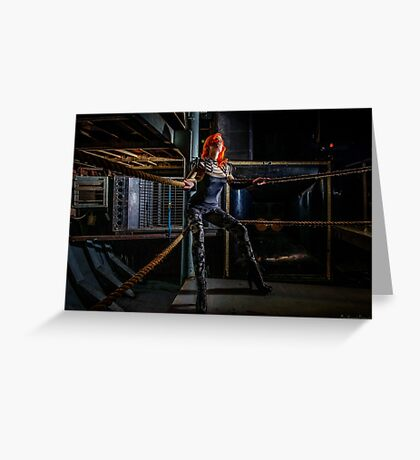 Ulorin Vex in Rachael Weiss: On the Ropes  Greeting Card