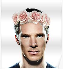 Benedict Flowerbatch Poster