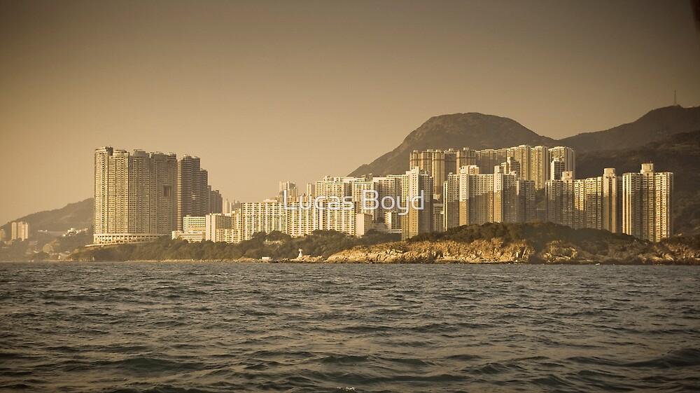 Aberdeen, Hong Kong Island by Lucas Boyd