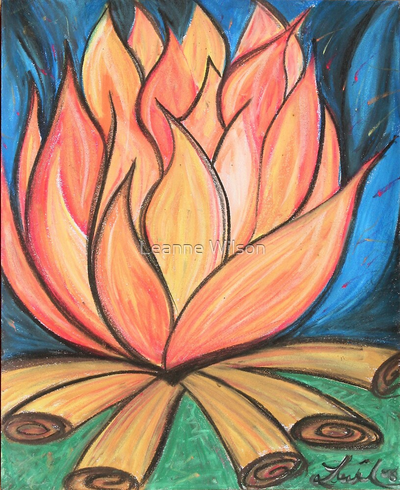 Midnight Flames by Leanne Wilson