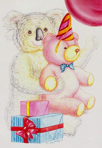 Koala and Bear by Pete Morris