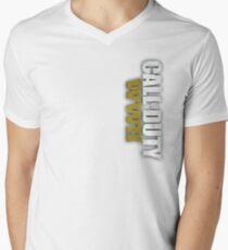 2 Guerra Mundial Men's V-Neck T-Shirt