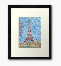Impressionist Eiffel Tower Framed Print