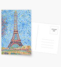 Impressionist Eiffel Tower Postcards