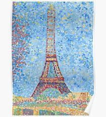 Impressionist Eiffel Tower Poster