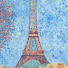 Impressionist Eiffel Tower by HAJRA MEEKS