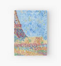 Impressionist Eiffel Tower Hardcover Journal