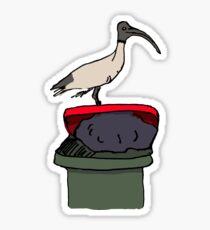 Bin Chicken Sticker