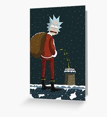 Santa Rick Greeting Card