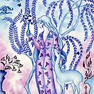 Lady & Last Unicorn by HAJRA MEEKS