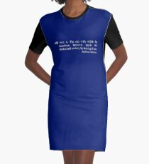 Wit - The Devil's Dictionary Graphic T-Shirt Dress