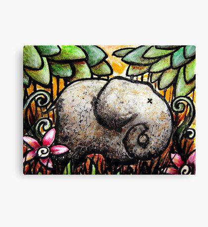 Ellie Elephant Canvas Print