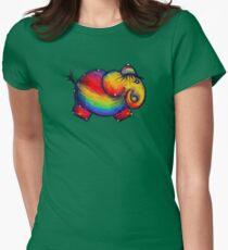Rainbow Elephant Tshirt T-Shirt