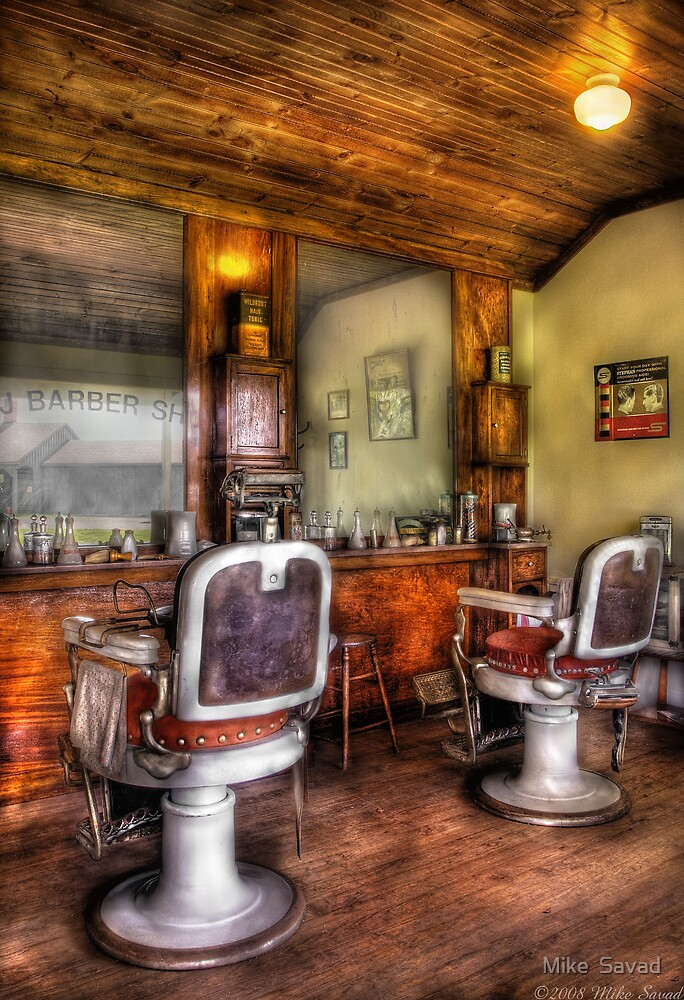 The Barber Shop by Michael Savad