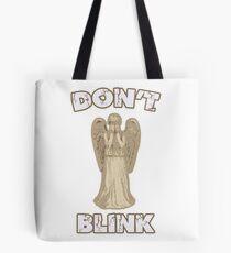 Don't Blink Weeping Angel Tote Bag