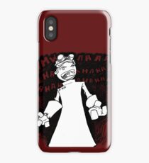 Doctor Horrible - Transparent Evil Laugh iPhone Case