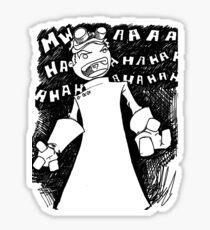Doctor Horrible - Transparent Evil Laugh Sticker