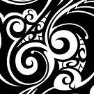 Hawaiian style tribal by TurkeysDesign