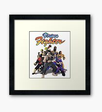 Virtua Fighter - All Characters Framed Print