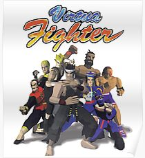 Virtua Fighter - All Characters Poster