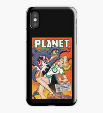 Comics on the Planet iPhone Case/Skin