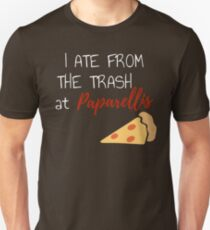 I Ate From The Trash at Paparallis Regular Show The Movie  Slim Fit T-Shirt