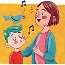 Birdsong Learning - Eltern und Kind von Meghan Zaremba
