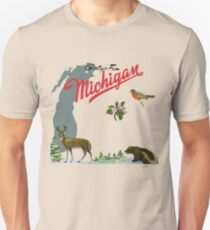Greetings From Michigan! Unisex T-Shirt
