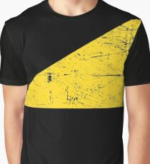 Distressed AnCap Anarcho Capitalism Flag Graphic T-Shirt