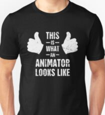 This Is What An Animator Looks Like Unisex T-Shirt