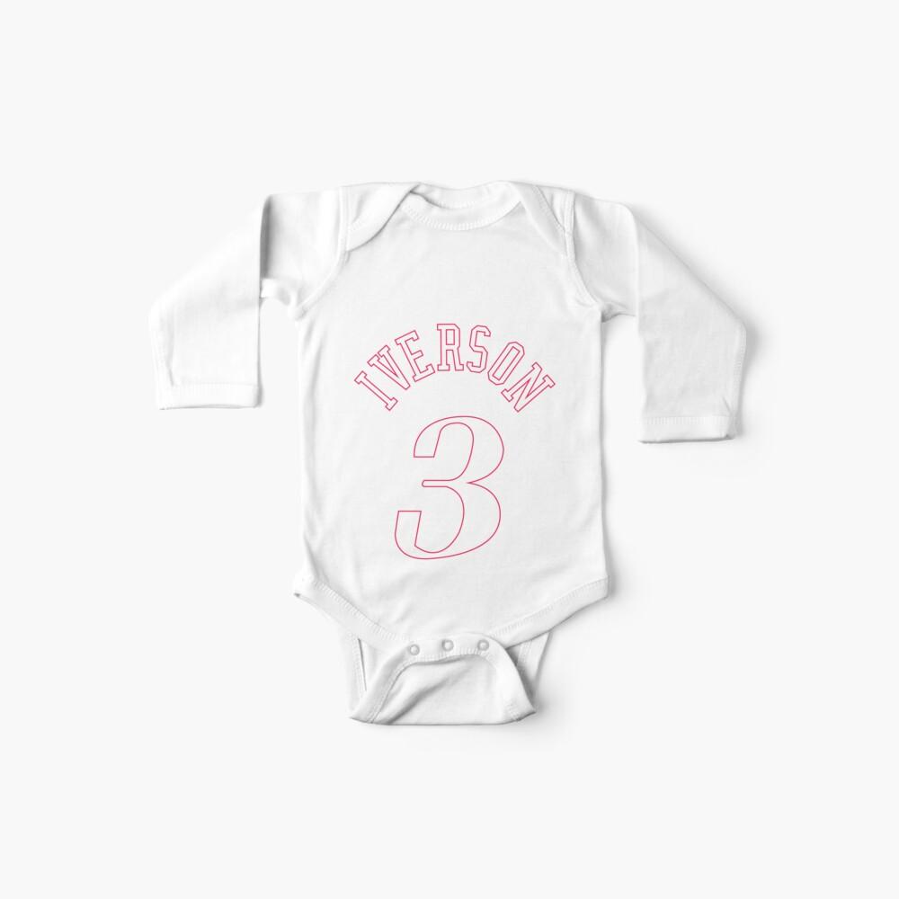 Allen Iverson Jersey Baby One-Pieces