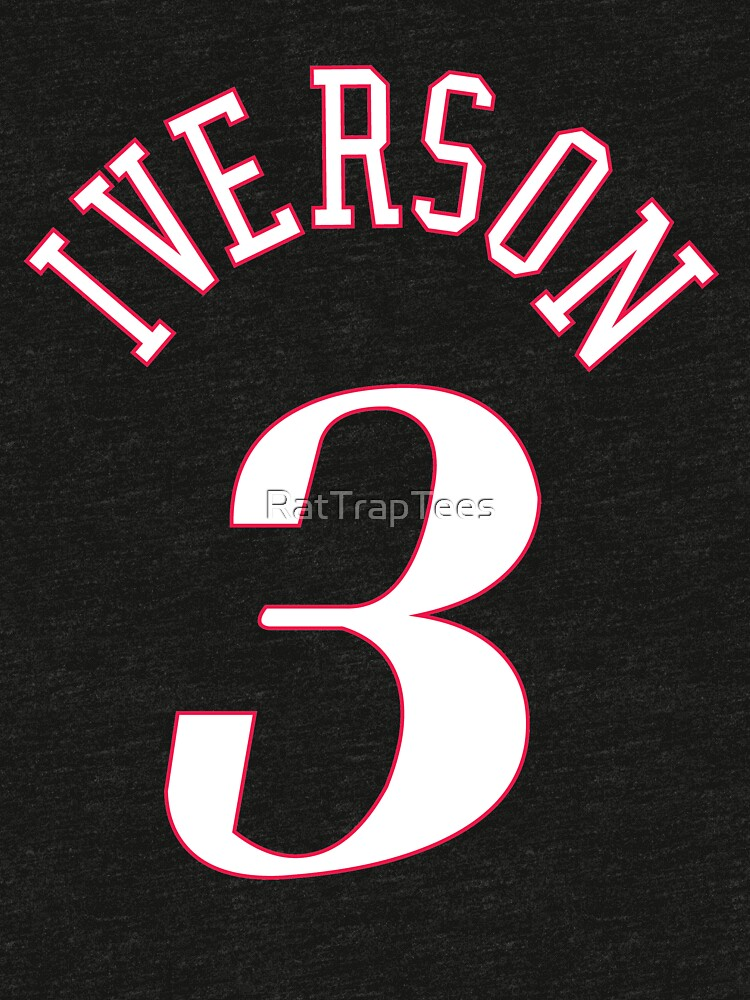 Allen Iverson Jersey by RatTrapTees