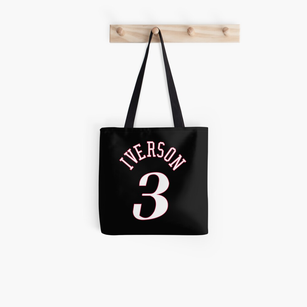 Allen Iverson Jersey Tote Bag